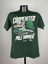 Men's Reebok Green Ed Carpenter 98th Indy 500 Back To Back Pole Winner Shirt M
