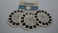 "View-Master Reels - Disney ""Mickey Mouse in Clock Cleaners"" 3 Reels 21 Pictures"