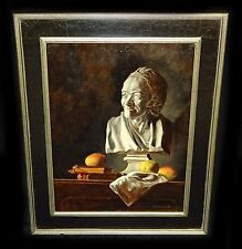 "Hawaii Oil Still Life Painting ""Voltaire with Mangos"" by Snowden Hodges (Sho)"
