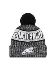 Philadelphia Eagles New Era 2018 NFL Sideline Cold Weather Black Sport Knit  Hat 733b6fe5a