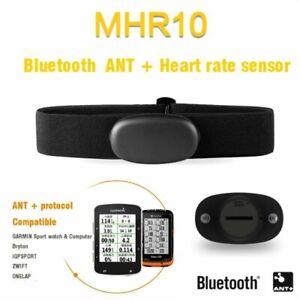 ANT+ Bluetooth V4.0 Smart Heart Rate Sensore Cardio Con Fascia Per Garmin Suunto