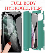 for iPhone 11 Pro Max Front and Back 360 Clear Hydrogel Film Screen Protector