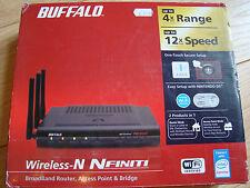 Buffalo WZR2-G300N Nfiniti Wireless N Router Access Point