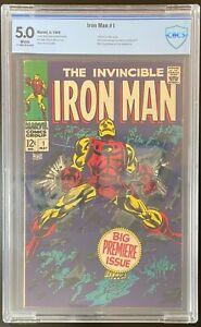 Iron Man #1 💥 CBCS 5.0 KEY 🔑 1st Solo Title & Origin of Iron Man NO RESERVE