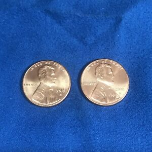 2x USA Cent Coins New Type