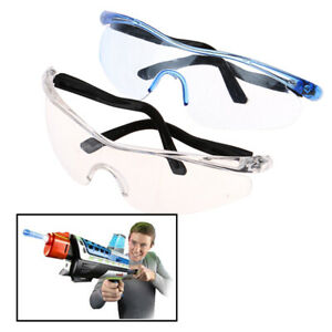 1Pc Plastic Toy Gun Glasses Protect Eyes Outdoor Children Kids Gifts^