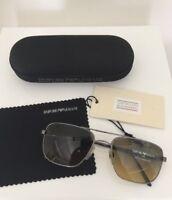 Vintage Emporio Armani Sunglasses EA 159 Shiny Gunmetal C. 1144/16 Made In Italy