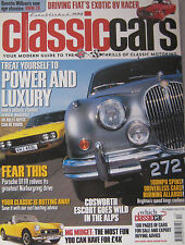 Classic Cars 12/2005 featuring Ford Escort Cosworth, BMW Z8, MG, Porsche, Fiat