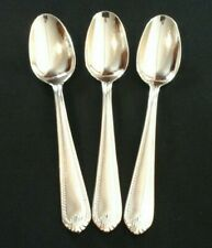 Lenox 18/10 Stainless Flatware BEAD pattern 3 Tablespoons
