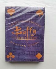 More details for buffy the vampire slayer collectors edition playing cards sealed