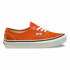 Vans Anaheim Authentic 44 DX Skate Shoes Sneakers Orange VN0A38ENMR US 4-12