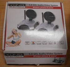 KONIG electronic 5,8 GHZ audio / video system VID-TRANS510KN