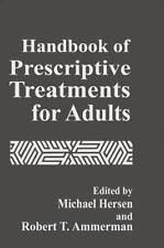 Handbook of Prescriptive Treatments for Adults