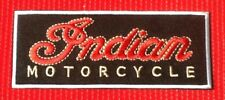 CLASSIC INDIAN VINTAGE AMERICAN MOTORCYCLE BIKE BIKER  BADGE IRON SEW ON PATCH