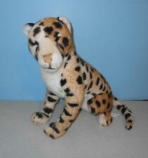 "18"" Sitting Up Cheetah / Leopard Wild Animal Stuffed Plush Various Shades"