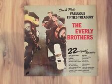 "Everly Brothers - Don & Phil's Fabulous Fifties Treasury - 12"" Vinyl LP"