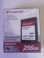 Transcend 256GB SSD Drive - TS256GSSD320  SATA 2.5 inch