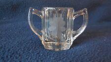 """EAPG - Duncan & Miller Glass Co. #54 """"Gable"""" toothpick"""