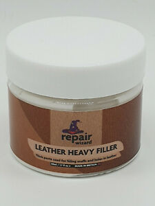 Leather Vinyl Repair Heavy Filler For Filling Holes Scuffs Cracking & Scratches