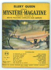 ELLERY QUEEN MYSTERE MAGAZINE 18 JUILLET 1949 RECITS POLICIERS COMPLETS GIALLI