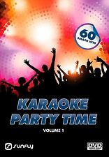 PARTY TIME VOL 1  SUNFLY KARAOKE DVD - 60 HIT SONGS