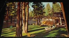 Vintage Postcard Happy Hours Motel So Lake Tahoe Ca