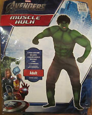 The Avengers Hulk Muscle Adult Costume Marvel Comics Size XLarge Brand New 825