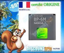 BATTERIE ORIGINE ORIGINAL NEUVE BP6M NOKIA N73 N73 MUSIC EDITION N77 ET N93