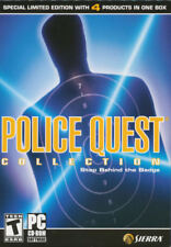 POLICE QUEST COLLECTION 4x Vintage PC Games for Windows - US Version New in BOX!