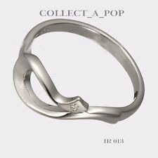 Authentic Kameleon Ice 925 Sterling Silver Stylized Snake Ring Size 8  IR013