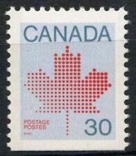 Canada 1981 SG#1032a, 30c Maple Leaf MNH P12x12.5 Bottom Imperf #D7052