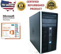 HP Compaq 6300 Pro 1TB, Intel Core i5 3rd Gen 3.2GHz 16GB MT 1 YEAR WARRANTY