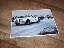 Photo / Photograph  Phil Hill JAGUAR XK120 Pebble Beach  1950 //