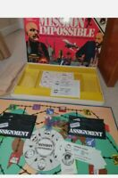 MISSION IMPOSSIBLE VINTAGE 1975 TABLE BOARD GAME BY BERWICK GAMES