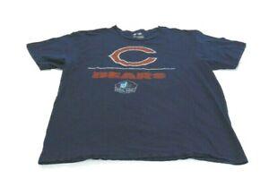 NFL Team Apparel T-Shirt Blue Football Hall Fame Chicago Bears Payton 34 Mens XL