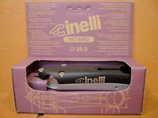New-Old-Stock Cinelli Sesamo Stem...Black/Silver Finish w/Silver Decals (120 mm)