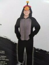 Deluxe Zipster Kids Angry Birds Movie Bomb Costume Medium