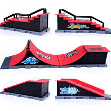Skate Park Ramp Parts for Tech Deck Fingerboard Finger Board Ultimate Parks HOT