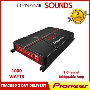 Pioneer GM-A5702 1000 WATT 2 Channel Bridgeable Speaker Bass Power Amplifier