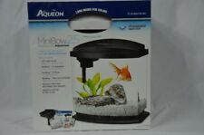 Aqueon LED MiniBow 2.5 Gallon Desktop Kit Aquarium White NEW with Scratches