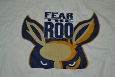 University of Akron Zips Fear The Roo T Shirt XL OH Kangaroo Mascot