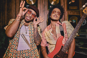 Bruno Mars & Anderson Paak Poster