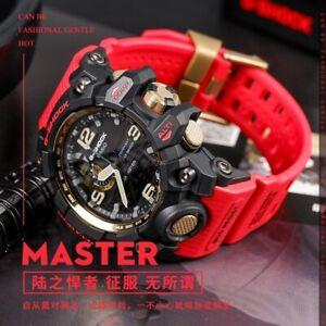 RARE NEW cASIO G SHOCK Mudmaster Red Gold GWG-1000GB-4APR China Market Limited