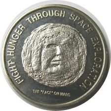 elf Liberia  50 Dollars 1996 The Face on Mars  Rough Texture  FAO