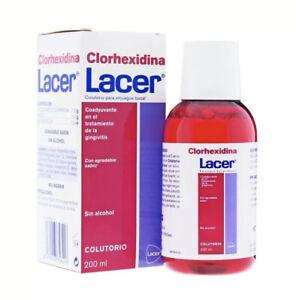 LACER CHLORHEXIDINE MOUTHWASH 200 ml. GINGIVITIS
