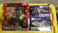 FansProject Crossfire Munitions and Explorer with ROTF Bruticus set
