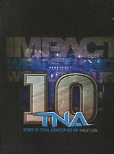 TNA Wrestling 10th Anniversary Program AJ Styles Bobby Roode Samoa Joe WWE Sting