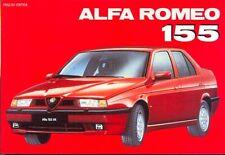 Alfa Romeo 155 - hard-to-find book! English language edition