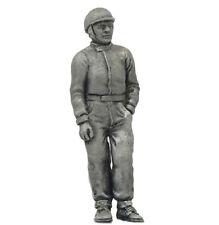 Denizen Race Driver 'Standing' 1950s/60s - Unpainted Metal Figurine 1/43 Scale