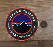 Patagonia Common Threads Reuse Circle Logo Sticker Decal Hike Fish Camp Car Yeti